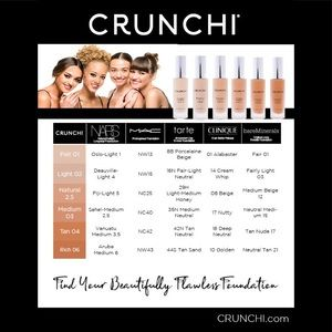 Crunchi Makeup - 🤩SAMPLES🤩